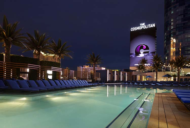 Pool at The Cosmopolitan Hotel